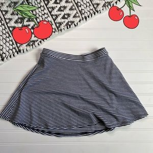 Old navel Striped Stretchable skirt